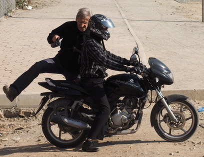 c- motocykl i mirek