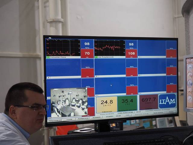 1-Monitoring komory